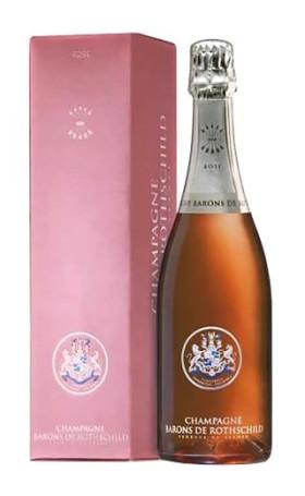 Шампанское Barons de Rothschild Brut Rose 0.75л