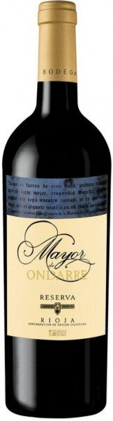 "Вино Bodegas Olarra, ""Mayor de Ondarre"" Reserva, Rioja DOC, 2010"