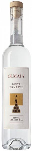 Граппа Col D'Orcia, Grappa di Cabernet Olmaia, 0.5 л