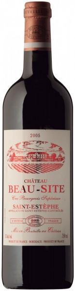 Вино Borie-Manoux, Chateau Beau-Site, Saint-Estephe, 2005