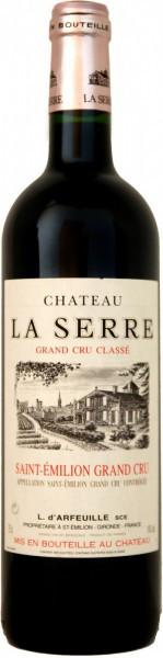 Вино Chateau La Serre (Saint –Emilion) Grand Cru Classe AOC, 2003