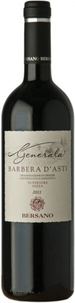 """Вино Bersano, """"Generala"""" Superiore, Barbera d'Asti DOCG, 2011"""