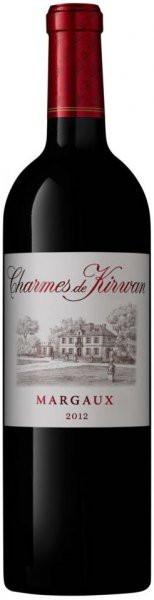 Вино Charmes de Kirwan, Margaux AOC, 2012