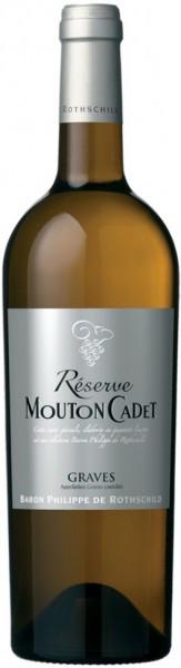 "Вино ""Reserve Mouton Cadet"" Graves AOC Blanc, 2013"