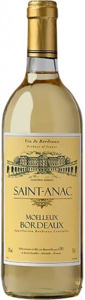 "Вино ""Saint-Anac"" Moelleux, Bordeaux AOC"
