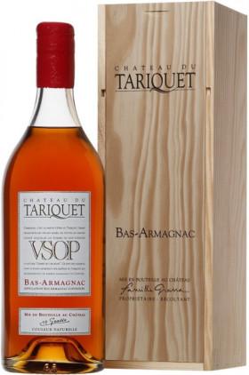 "Арманьяк ""Chateau du Tariquet"" VSOP, Bas-Armagnac AOC, wooden box, 1.5 л"