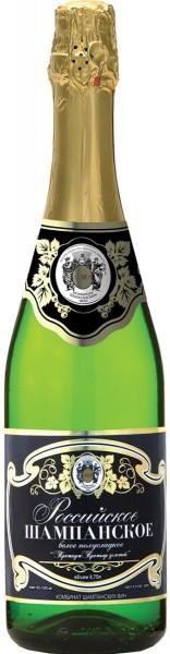 """Игристое вино """"Premium Premier Zolotoy"""", Rossiyskoe Champagne"""