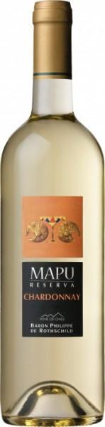 "Вино Baron Philippe de Rothschild, ""MAPU Reserva"" Chardonnay, 2012"