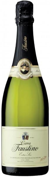 Игристое вино Cava Faustino, Extra Secco