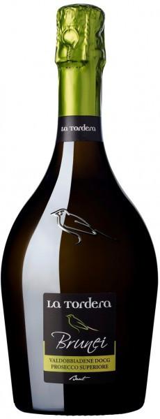 "Игристое вино La Tordera, ""Brunei"" Brut, Valdobbiadene Prosecco Superiore DOCG"
