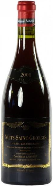 """Вино Dominique Laurent, Nuits-Saint-Georges AOC, 1-er Cru """"Les Vaucrains"""" Vieilles Vignes, 2008"""