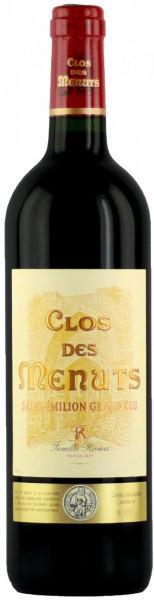 """Вино """"Clos de Menuts"""", Saint-Emilion Grand Cru AOC, 2013"""