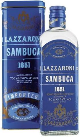 Ликер Lazzaroni, Sambuca 1851, gift box, 0.7 л