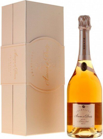 "Шампанское ""Amour de Deutz"" Brut Rose, 2006, gift box"