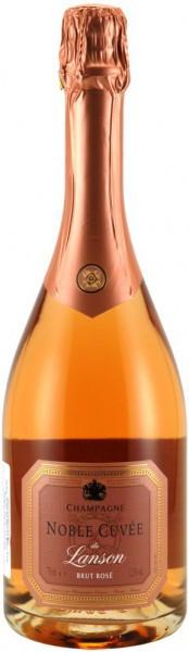 """Шампанское Lanson, """"Noble Cuvee"""" Brut Rose"""