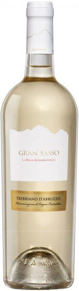"""Вино Gran Sasso, """"La Bella Addormentata"""" Trebbiano d'Abruzzo DOC, 2014"""