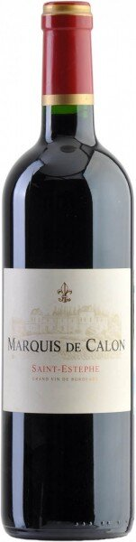 "Вино ""Marquis de Calon"", Saint-Estephe AOC, 2013"