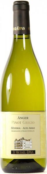 "Вино San Michele-Appiano, ""Anger"" Pinot Grigio, Alto Adige DOC, 2010"