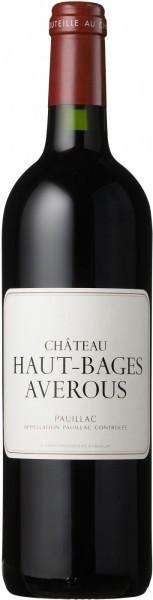 Вино Chateau Haut-Bages Averous, Pauillac AOC, 2007