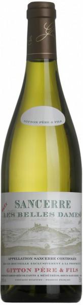 """Вино Gitton Pere & Fils, """"Les Belles Dames"""", Sancerre AOC, 2013"""