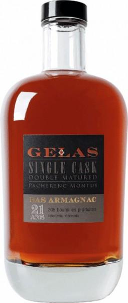 """Арманьяк Gelas, """"Single Cask"""", 21 ans, 0.7 л"""