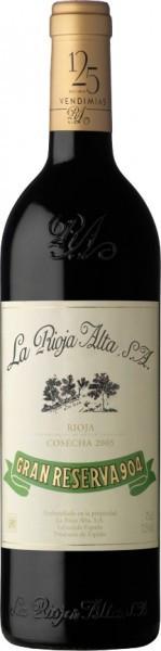 "Вино ""Gran Reserva 904"", Rioja DOC, 2005"