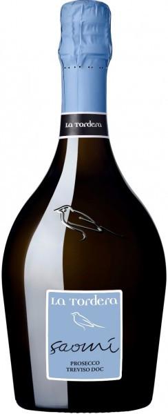"Игристое вино La Tordera, ""Saomi"" Prosecco, Treviso DOC"