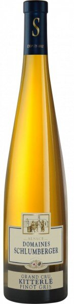 Вино Schlumberger, Pinot Gris Grand Cru Kitterle Le Brise-Mollets, Alsace AOC, 2004, 0.375 л