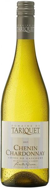 Вино Domaine du Tariquet, Chenin-Chardonnay, Cotes de Gascogne VDP, 2015