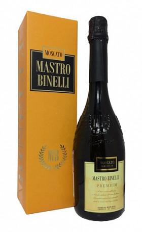 Игристое вино Mastro Binelli Moskato Premium gift box 0.75л