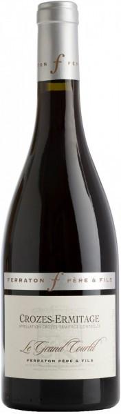 "Вино Ferraton Pere & Fils, ""Le Grand Courtil"", Crozes-Hermitage AOC, 2010"