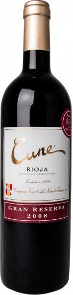 """Вино """"Cune"""" Gran Reserva, Rioja DOC, 2008"""