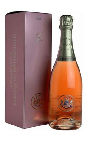 Шампанское Barons de Rothschild Rose 0.75л