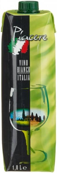 "Вино Peter Mertes, ""Piacere"" Bianco, Tetra Pak, 1 л"