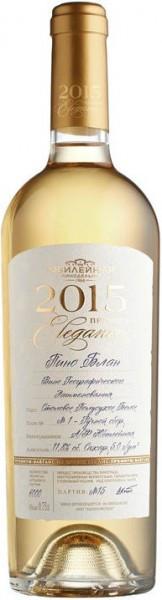 "Вино Yubileynaya, ""Elegance"" Pinot Blanc Premium, 2015"