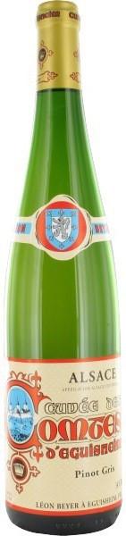 "Вино Leon Beyer, Pinot Gris ""Cuvee des Comtes d'Eguisheim"", Alsace AOC, 2005"