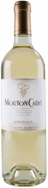 "Вино ""Mouton Cadet"", Bordeaux AOC Blanc, 2014"