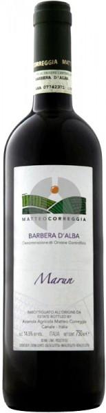 "Вино Matteo Correggia, ""Marun"", Barbera d'Alba DOC, 2010"