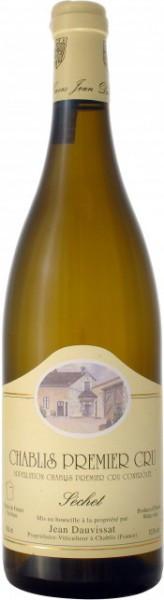 """Вино Domaine Jean et Sebastien Dauvissat, Chablis 1-er Cru """"Sechet"""", 2010"""