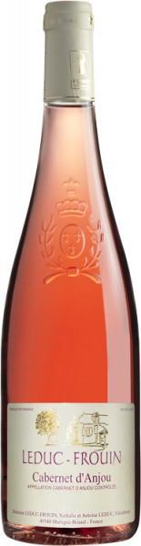 """Вино Domaine Leduc-Frouin, """"La Seigneurie"""", Cabernet d'Anjou AOC, 2014"""