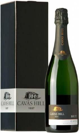 Игристое вино Cavas Hill Cava Reserva Oro Brut DO, gift box