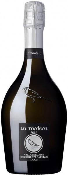 Игристое вино La Tordera, Superiore di Cartizze Dry, Valdobbiadene Prosecco Superiore DOCG