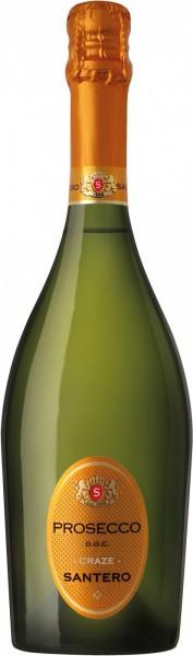 Игристое вино Santero, Prosecco DOC Craze, Collio