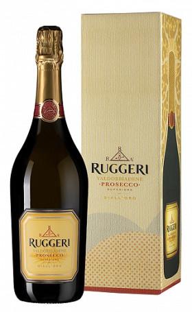 Просекко Ruggeri Co Prosecco Superiore Valdobbiadene DOCG Gialloro gift box 0.75л