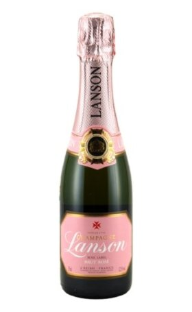 Шампанское Lanson Rose Label Brut Rose 0.375л