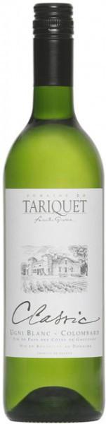 """Вино Domaine du Tariquet, """"Classic"""", Cotes de Gascogne VDP, 2012"""