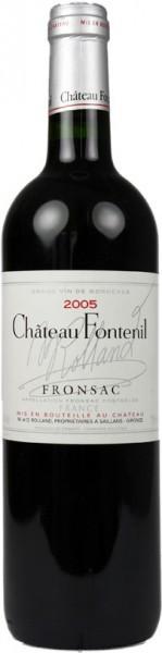 Вино Chateau Fontenil, Fronsac AOC, 2005