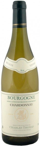 Вино Charles Thomas, Bourgogne Chardonnay AOC, 2011