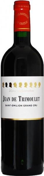 """Вино """"Jean de Trimoulet"""", Saint-Emilion Grand Cru AOC, 2013"""