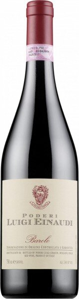 Вино Poderi Luigi Einaudi, Barolo, 1999